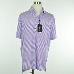 NEW RLX GOLF Ralph Lauren Mens Polo Shirt Purple